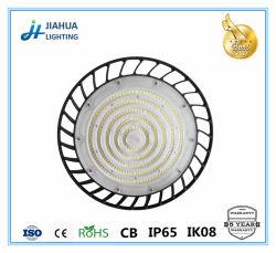 OEM LED 높은 만 빛 150W IP65는 Ik08 세륨 콜럼븀 RoHS에 의하여 승인된 산업 점화 Highbay를 방수 처리한다