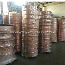 T1/T2/T3 Copper-Nickel Bobina de tubos sem costura