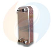 Zl26 Series (CB26) Las placas de acero inoxidable AISI316 tipo placa plana de cobre suelda el intercambiador de calor solar