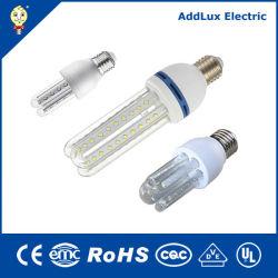 Todo-en-uno integrado CE UL de tubo en U Saso E27 B22 E14 de ahorro de energía de luz LED SMD Fabricado en China para el hogar y de negocios de la iluminación interior de la mejor fábrica de distribuidor