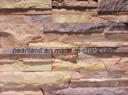 De kunstmatige Gecultiveerde Steen van de Cultuur Steen voor de Bekleding van de Muur