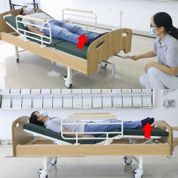 Populares y prácticos de suministros médicos de ortopedia Manual de Enfermería de tracción en la cama por casa y el uso de enfermería
