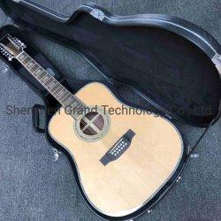 Custom Solid Abete Top 12 corde chitarra acustica 41 pollici Chitarra Dreadnought