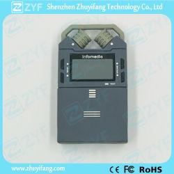 Gravador Digital de Áudio Personalizado de forma a unidade flash USB (ZYF5028)