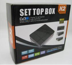 HD DVB-T2 K2 STB MPEG4 DVB-T2 K2를 가진 위성 텔레비젼 수신기