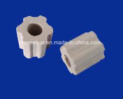 La guarnición de la torre de la Flauta de anillo Raschig de cerámica de la torre de refrigeración