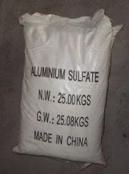 Sulfate d'aluminium, sulfate d'aluminium forfaitaire, 17 % Sulfate d'aluminium