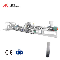 Les petites PLA Pet PS de feuilles de PP de l'extrudeuse Making Machine Prix extrusion extrusion
