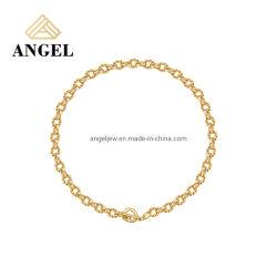 Commerce de gros Fashion 925 Silver Neckalce pour Mesdames Trendy Quanlity cadeau de bijoux haute