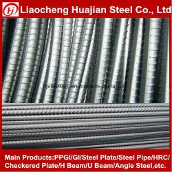 Rebar deformado de la barra de acero de acero barras de hierro para hormigón