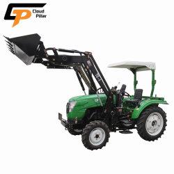 Mini chineses frente carregador 4X4 4 em 1 Buldozer de Tratores Agrícolas para venda