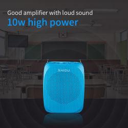 Shidu Amplificateur Audio couplé de microphone sans fil