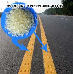 Resina alifatica del petrolio C5 per la vernice calda della marcatura di strada della fusione