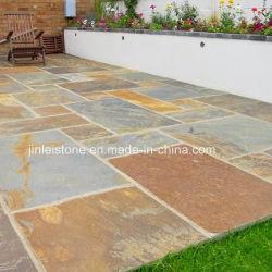 Pavimentadora de pizarra natural / Jardín al aire libre para la pavimentación de la pizarra