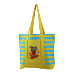 BCI Oekotex العضوي هدية الكتف النساء حقائب اليد أزياء حقيبة قطن حقيبة من القطن للتسوق