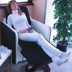 Elektrischer vibrierender Wärme-volle Karosserie Shiatsu rückseitiger Massager