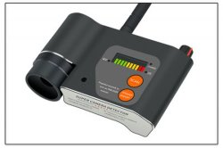 الكشف عن إشارات الليزر المبتكرة باستخدام كاميرا الأشعة تحت الحمراء