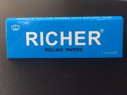 13,5g 1 1/4 Formaat Premium Ultra Thin Fine 100% Natuurlijk Arabisch Gum Langzaam Brandend Wit Rolpapier