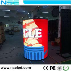Новая конструкция для использования внутри помещений LED Pixel Flexbile шторки экрана