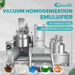 ステンレス鋼のシアバターのクリームの乳化剤の混合機械タンクホモジェナイザーのミキサー
