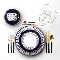 Bruiloft Aardewerk Dinnerware Fine China Keukengerei keramische Diner Plate