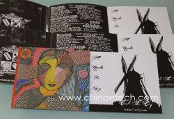 6 パネルカードボードパッキング音楽 CD レプリケーション USA