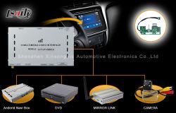 Décodeur vidéo avec fonction tactile de navigation pour Honda-City/ Vue arrière/gauche - à