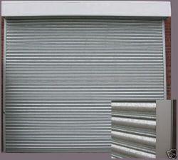 Galvanisé automatique industrielle ou commerciale ou en acier inoxydable rouleau métallique verticale de frais généraux jusqu'porte de garage de l'obturateur pour l'entrepôt ou d'usine
