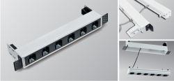Светодиодный индикатор линейного перемещения подвески встраиваемый светодиодный светильник линейного перемещения для управления освещением внутреннего освещения