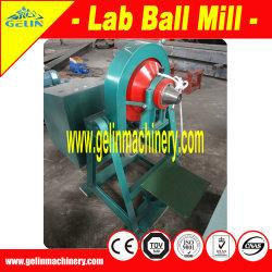 Мини-Lab горнодобывающих предприятий малого шаровой мельницы для золотых запасов полезных ископаемых испытания