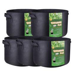 10 de Tuin van de gallon kweekt Kwaliteit van de Verluchting van de Verluchting van de Stof van Zakken de Potten zacht-Opgeruimde met Handvatten voor het Kweken van Bomen