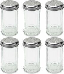 Сыр Glss вибрационное сито для шести Set 12oz стекло перцем и солью расширительного бачка