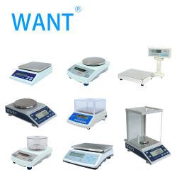 La precisión de 0,01 g la función de aparatos de laboratorio equilibrio electrónico fabricado en China