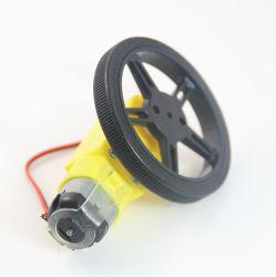 スマートな車のロボットDCモーターのためのギヤモーターTTモーター+車輪+サポートの車輪