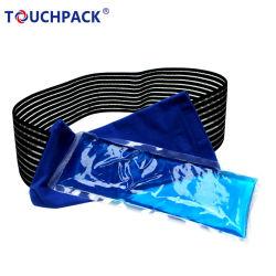 كتف [ب] مرنة طبّيّ قابل للاستعمال تكرارا حارّ باردة هلام جليد حزمة & لفاف جليد هلام كتلة