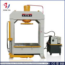 China Zhongyou estrutura H Gantry Industrial Móvel pneu do carro elevador Prensagem hidráulica máquinas para pneus sólidos com Marcação ce&SGS