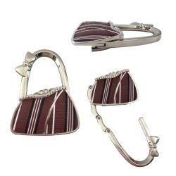 Bunte Handtaschen-Form-Entwurfs-Metallhandtaschen-Halter-Tisch-Fonds-Aufhängung