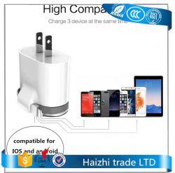 5V 2.1A 이중 포트 USB AC 벽 여행 힘 충전기 접합기 EU 저희 플러그 iPhone Samsung를 위한 지능적인 이동 전화 충전기