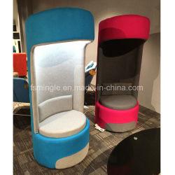 Diseño exclusivo, el ocio de tela tipo de monoplaza Reunión Pod con luz LED
