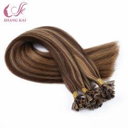 100% итальянский кератин до кабального индийского Реми волос лак для ногтей U Кончик волос