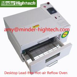 Libre de Plomo Hot-Air SMT de sobremesa Horno de reflujo de soldadura para PCB