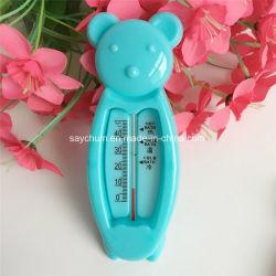 Зал для занятий фитнесом с плавающей запятой мультфильмов нести Детский термометр для воды, Детский термометр для ванной, пластмассовых игрушек в ванной комнате термометр датчика наличия воды