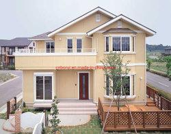 軽い鉄骨構造の別荘の家デザインによっては、プレハブの贅沢3寝室が家へ帰る