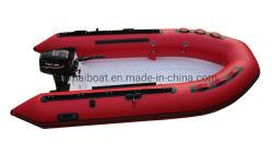 Fiberglas-aufblasbarer Boots-steifer Rumpf Heytex Miller des China-heißer Verkaufs-Wasser-Sport-Produkt-10.8feet Rib330 FRP Belüftung-aufblasbares Boots-Rippen-Boots-Bewegungsboots-Geschwindigkeits-Boot