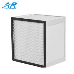 Filter der hohe Leistungsfähigkeits-Aluminiumrahmen-Luft-Falte-HEPA für Klimaanlagen-Filter-System