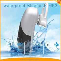 8G 메모리 카드가 내장된 IPX8 방수 Bluetooth MP3 플레이어