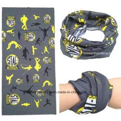 Porcellana fabbrica OEM Custom Logo Fullover Stampa poliestere senza cuciture tubolare Bretella di fissaggio a bandana