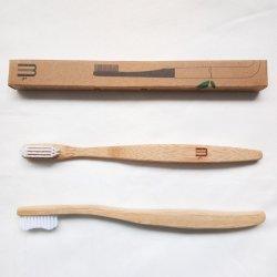 Einfache erwachsene Bambuszahnbürste-c$eco freundlicher Bambus