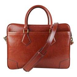 Geschäfts-Geschenk-Laptop-Beutel-Rechtsanwalt-echtes Leder-Aktenkoffer