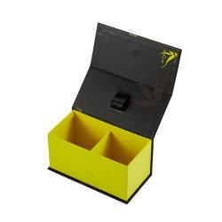 Té de lujo personalizado cierre magnético de embalaje Caja de papel de regalo
